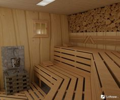 полки в сауне - Поиск в Google Traditional Saunas, Spa Rooms, Sauna Room, Backyard, Patio, Industrial, Farm Gardens, Luxury Homes, Building