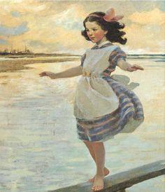 Le Têtu en rêve ou l'entêté transgresse souvent  l'interdit - ©Jessie Willcox Smith - 1863-1935