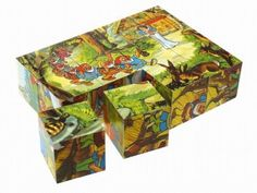 Puzzle blocks that produce 6 different Snow White scenes Sylvanian Families, Toys Online, Puzzles, Snow White, Decorative Boxes, Puzzle, Sleeping Beauty, Jigsaw Puzzles, Decorative Storage Boxes