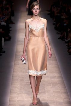 Embroidery dress  Valentino Spring 2013 Ready-to-Wear Collection Slideshow on Style.com