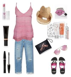 """""""Lazy day chilling with friends"""" by afranks830 on Polyvore featuring MANGO, Mary Kay, Flora Bella and Michael Kors"""