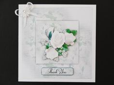 This pretty card is quick and easy to make. Use it as it is or add the layers of decoupage. Should you require a smaller card then just resize when you print.