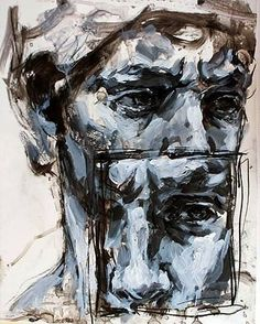 #Art #Faces - elly smallwood #art #paintings...