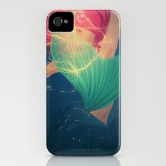 Ariel iPhone case. I like how I don't have an iphone but am pinning all of these anyway