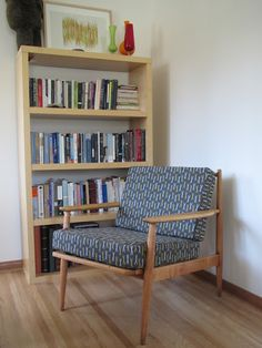Attirant A Great Mid Century Modern Chair. The Frame Was In Beautiful Condition; The