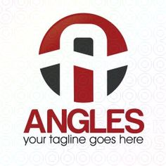 Exclusive Customizable A Letter Logo For Sale: Angles   StockLogos.com