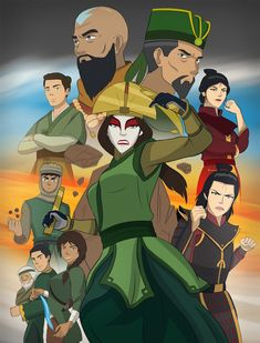 Flying Opera Company - The Rise of Kyoshi by on DeviantArt Avatar Kyoshi, Avatar Legend Of Aang, Team Avatar, Legend Of Korra, The Last Avatar, Avatar The Last Airbender Art, Zuko, Ge Image, Avatar Cartoon