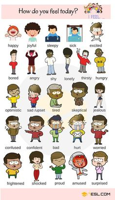 List of Adjectives | Common Adjectives in English - 7 E S L