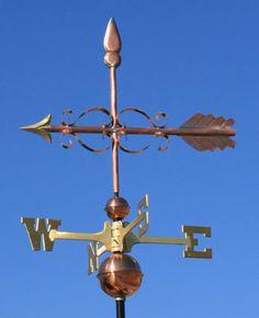 Arrow weatervane