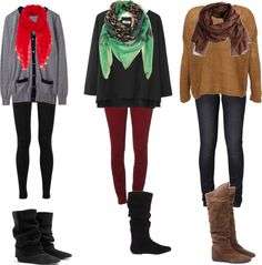 """""""Oversized Sweaters"""" by mikalyn97 on Polyvore"""