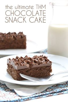 """""""I love the idea of 'snack cake', something that's simple enough and healthy enough to offer to kids when they come home from school or to any unexpected guests that drop by. But a cake that can also be special enough to double as dessert if necessary. That's the kind of cake I wanted to make."""" - Carolyn  www.TrimHealthyMama.com"""