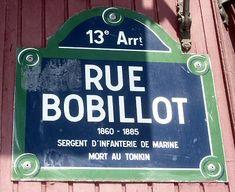 La rue Bobillot (Paris 13ème)