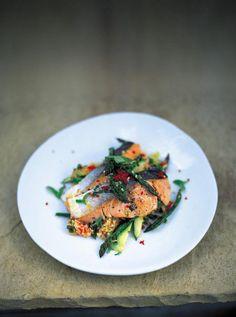 salmon & couscous | Jamie Oliver | Food | Jamie Oliver (UK)