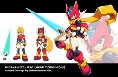 Megaman ZX3 Concept- Ezro by ultimatemaverickx.deviantart.com on @deviantART
