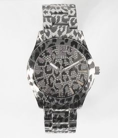 Guess Leopard Print Watch - Women's Watches | Buckle
