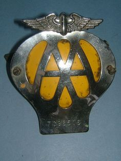 Vehicle Parts & Accessories Romantic Vintage Aa Badge Badges & Mascots