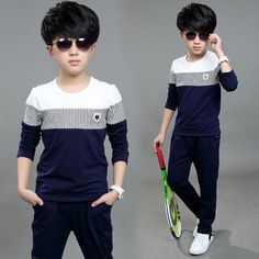 Special price Children's clothing male child set spring 2016 7 child sports 9 spring and autumn boy casual 8 10 11 12 just only $23.14 with free shipping worldwide  #boysclothing Plese click on picture to see our special price for you