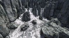 Houdini FLIP HiRes River with Waterfall on Vimeo