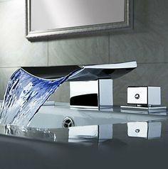Farbwechsel LED Wasserfall verbreitet Waschbecken Wasserhahn (verchromt), http://www.amazon.de/dp/B00ALNK380/ref=cm_sw_r_pi_awd_hyuVsb17JGJN7