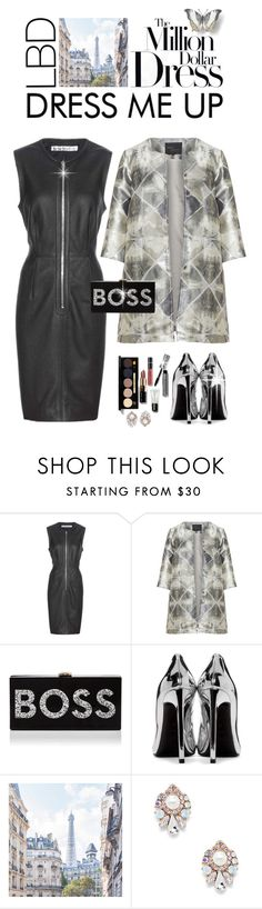 """""""Little Black Dress"""" by shortyluv718 ❤ liked on Polyvore featuring Acne Studios, Zizzi, Milly, Yves Saint Laurent, Bobbi Brown Cosmetics, Sole Society and LBD"""