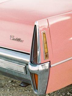 elvis pink cadillac wedding car Las Vegas elopement