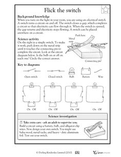 Printables Electrical Circuit Worksheets activities circuit diagram and worksheets on pinterest