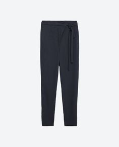 Image 8 of FLOWING TROUSERS from Zara