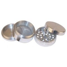 Part aluminium grinder with sifter 24 99