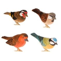 British Birds Clip  (options available)