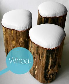 use for the tree stumps