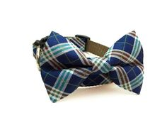 Dog Bow Tie Collar Custom Color Wedding by soopertramp on Etsy in Red for the Huck dog!