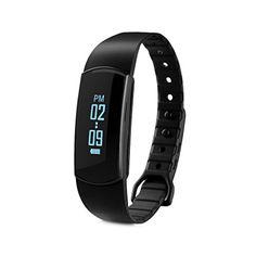 Diggro SH09 - Ajustable Impermeable Smartwatch Pulsera de Actividad (OLED, Bluetooth, Podometro, Ritmo Cardíaco - https://complementoideal.com/producto/tienda-socios/diggro-sh09-ajustable-impermeable-smartwatch-pulsera-de-actividad-oled-bluetooth-podometro-ritmo-cardaco-calorias-monitor-de-sueo-captura-remota-negro/