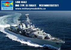 HMS Type 23 Frigate Westminster[F237] Trumpeter 04546
