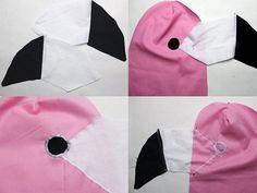 DIY-Anleitung: Flamingo-Kostüm nähen via DaWanda.com