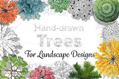 Hand-Drawn Trees - Objects