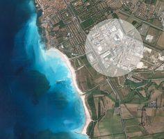 Baden an der Riviera: Nicht(!) in Vada! Der Strand ist nur deshalb so weiß, weil eine Sodafabrik ihre teils quecksilberverseuchten Abwässer dort einleitet.