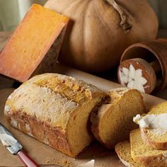 Pumpkin Cheese Bread Recipe - Country Living