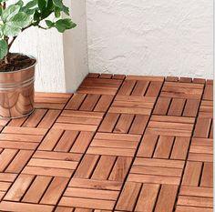 ikea wood panelling