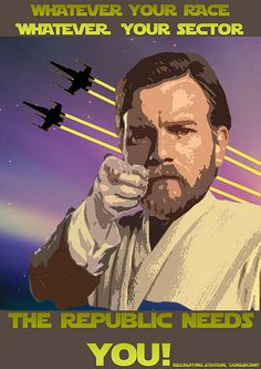The Republic needs you!