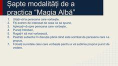 """Mihai Cornel's blog: """"Magia Alba"""" - cum să ascultați ce au alți de spus..."""