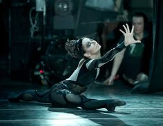 """Elena Podymova as Death, Romeo and Juliet. Leonid Yacobson Ballet. © Nikolay Krusser.  """"Call this a lightning?—O my love, my wife! Death, that hath sucked the honey of thy breath, Hath had no power yet upon thy beauty. Thou art not conquered. Beauty's ensign yet Is crimson in thy lips and in thy cheeks"""""""