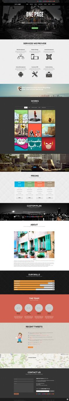 Joomla Templates - SimpleKey :: One Page Portfolio Joomla Template - Zizaza item for sale $40