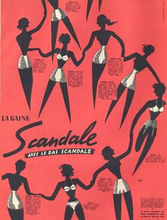 Scandale, la gaine. Paris Match n° 207 du 28 février au 7 mars 1953.