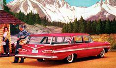 1959 Chevrolet Nomad Station Wagon