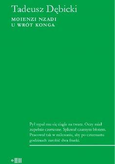 Okładka książki Moienzi nzadi. U wrót Konga