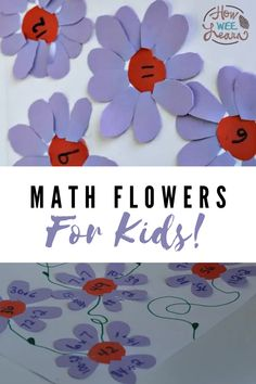 This simple math art activity is more than just fun and cute. It is a math activity that can easily be adjusted for preschoolers all the way up to school aged kids, making it ideal for siblings. Whether your preschooler is learning to count, or your older child is practicing double facts, addition, subtraction, multiplication, or division, this craft works perfectly! Click the link for all the details. Educational Activities For Preschoolers, Preschool Math Games, Number Activities, Preschool Crafts, Preschool Activities, Simple Math, Basic Math, Arts And Crafts Projects, Science Projects