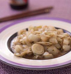 Endives poêlées à la sauce soja - Recettes de cuisine Ôdélices