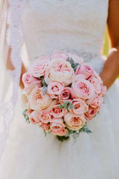 Organza y Tul: Ramos de novia románticos