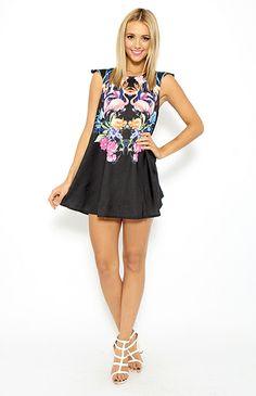 Tranquil Dress - Black @Peppermayo Boutique www.peppermayo.com #fashion #peppermayo