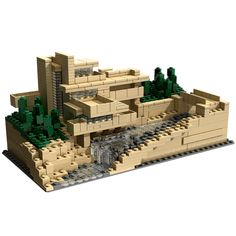 Lego Fallingwater model kit, $175. Re-create Frank Lloyd Wright's 1936 masterpiece of a home built over a waterfall in Bear Run, PA. With 811 Lego pieces, it's ideal for those who like to exercise their patience and fortitude.